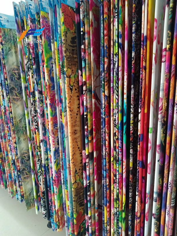 Wholesale 100% Polyester Floral Printed Chiffon Fabric 2