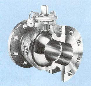High Performance Flanged Stainless Steel Ball Valve
