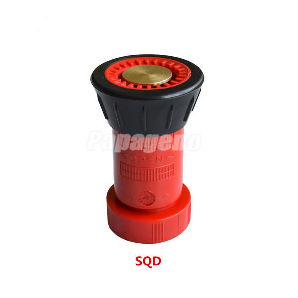 Water Nozzle for Fire Hose Spray Plastic Nozzle in 1