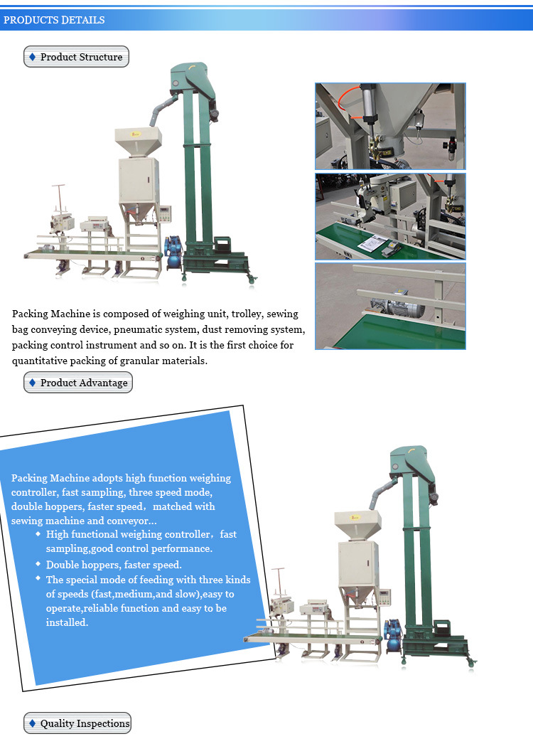maize packing machine