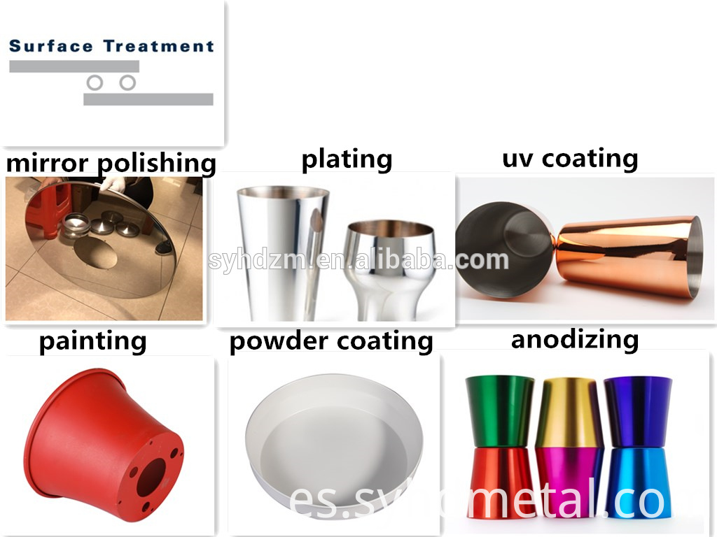 metal spinning cover parts