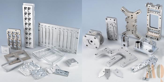 High Precision CNC Milling and CNC Machining Aluminum Parts