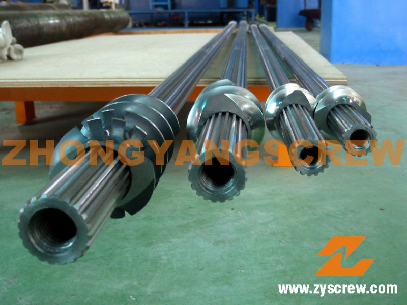 Screw Element and Segmented Barrel for Plastic Machinery