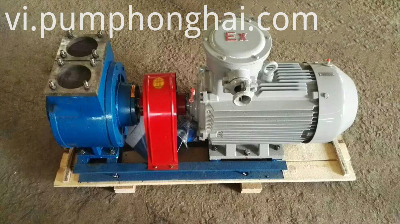 YPB series vane pump with explosion-proof motor