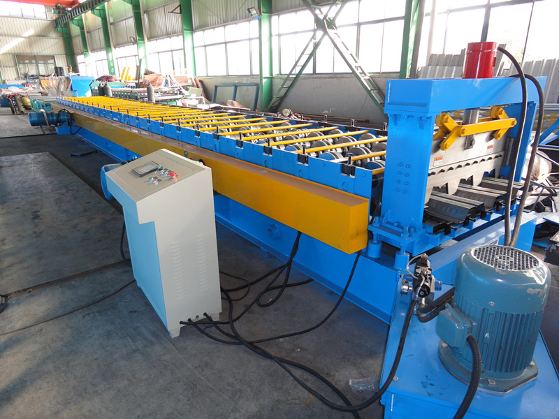 Greenhouse Rain Gutter Roll Forming Machine