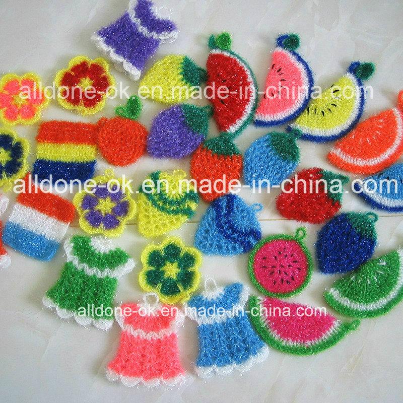 Hand Crcochet Scrubbies Scrubber Dish Cloth Carrot