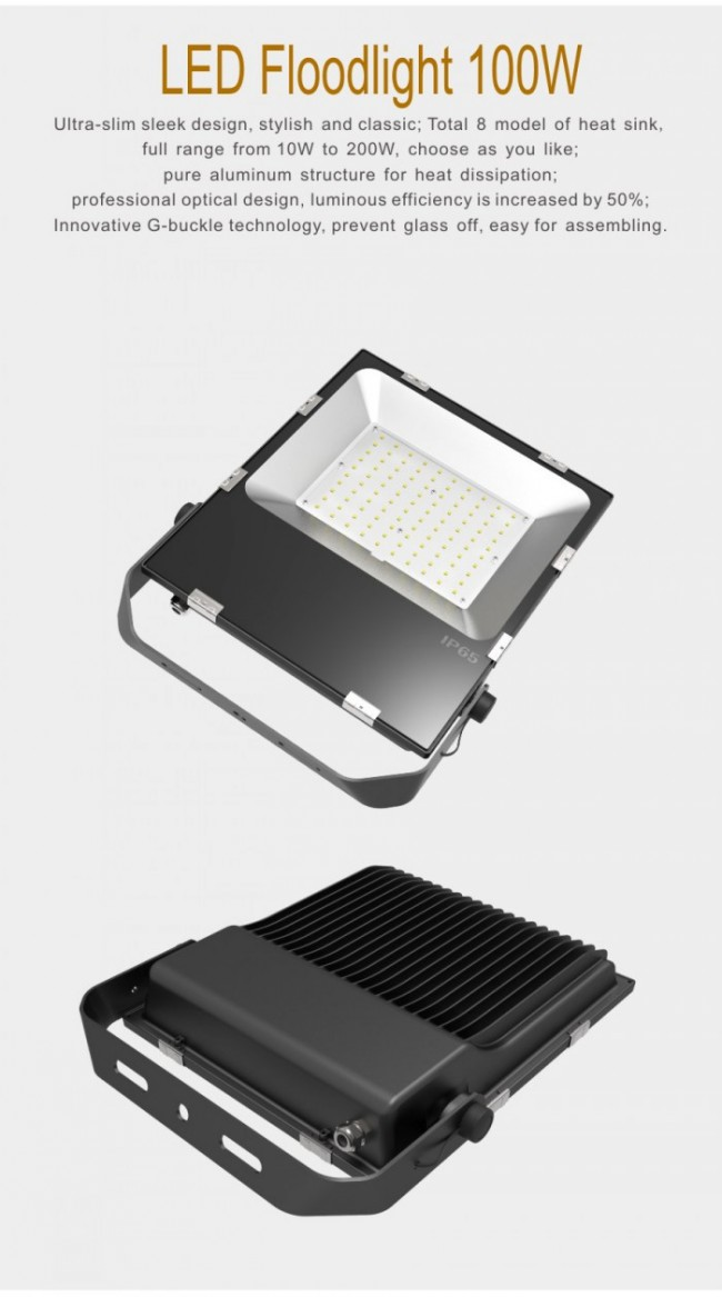 High Quality 100W IP65 Outdoor LED Flood Lamp Wholesales