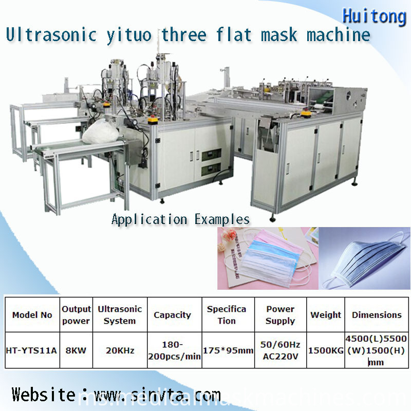 One To Three Mask Production Line