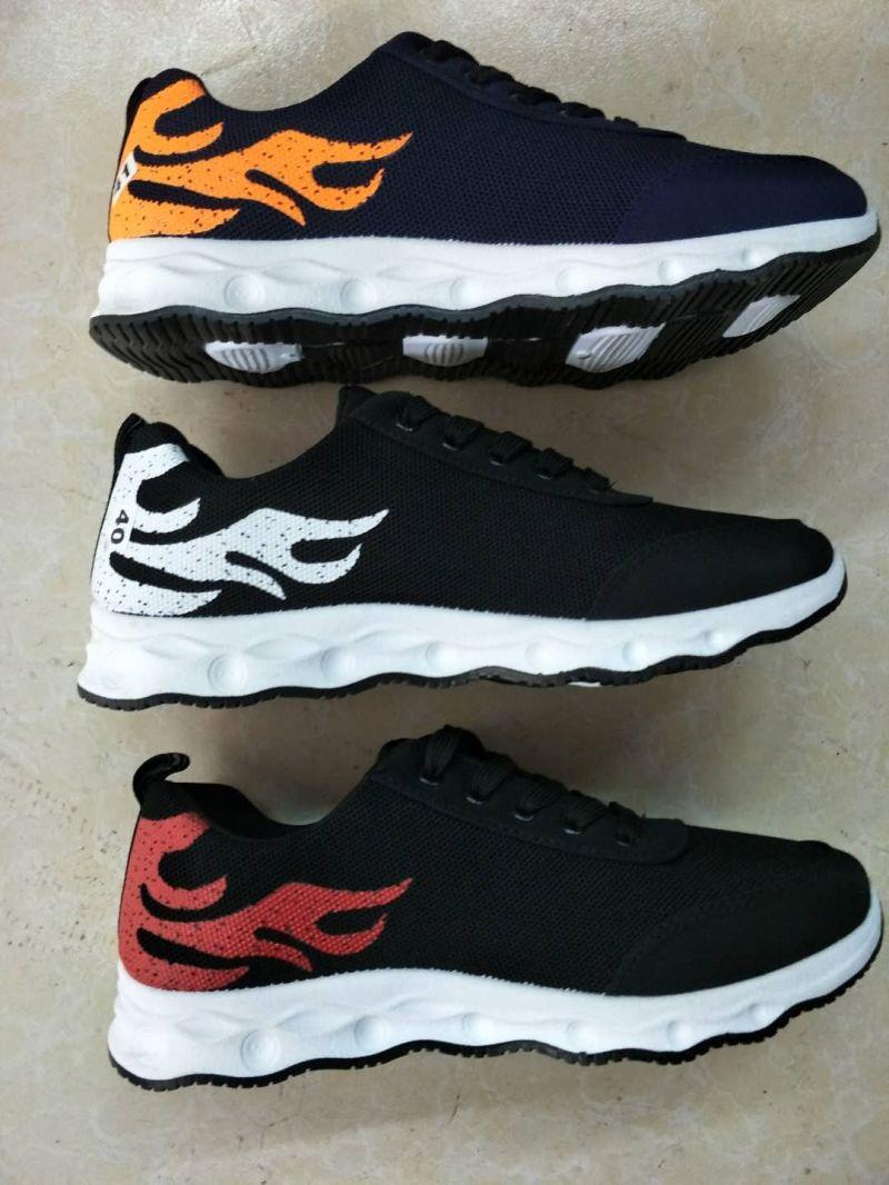 Stock Shoes No MOQ Sports Athletics Men Casual Flyknit