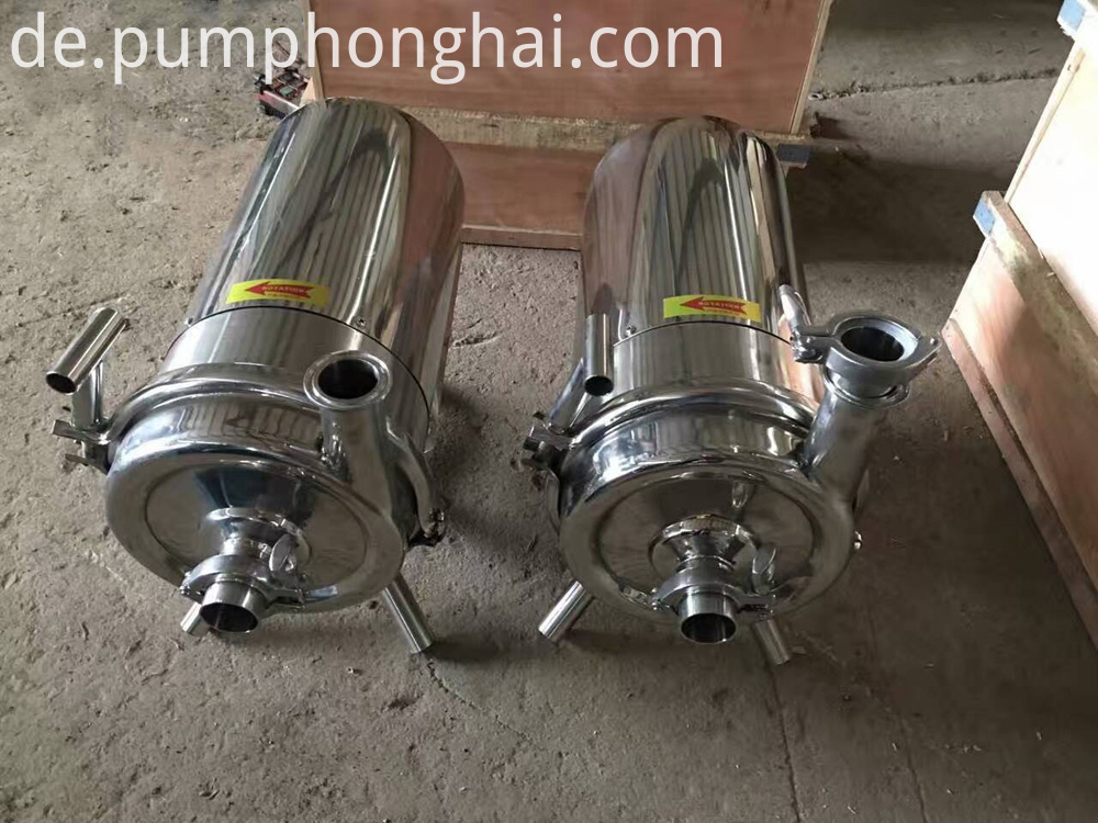 SS316L food grade hygienic self priming water pump for beer milk tank