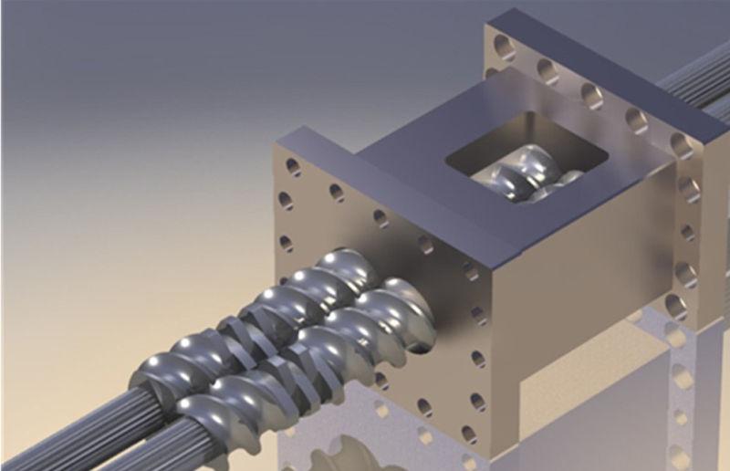 Plastic Extrusion Machine of PE PA Tse-40A Extruder