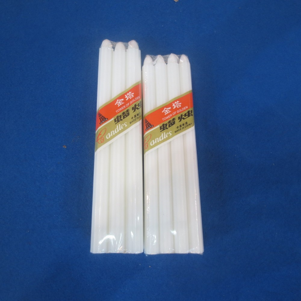 White Candles Velas
