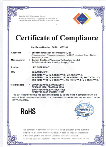 T8 1200mm 18W Ce RoHS 3 Years Warranty Tube LED Clear