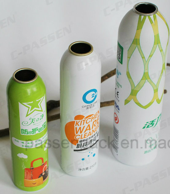 Aluminum Spray Can for Skin Care Aerosol Packaging (PPCC-AAC-022)