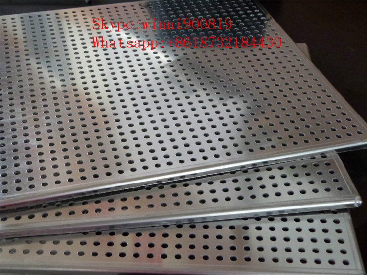 Yaqi Factory Manufacture Aluminum Perforated Metal with Factory Price