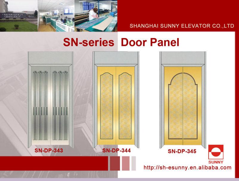 Elevator Door Panel in Rose Golden Color (SN-DP-307)
