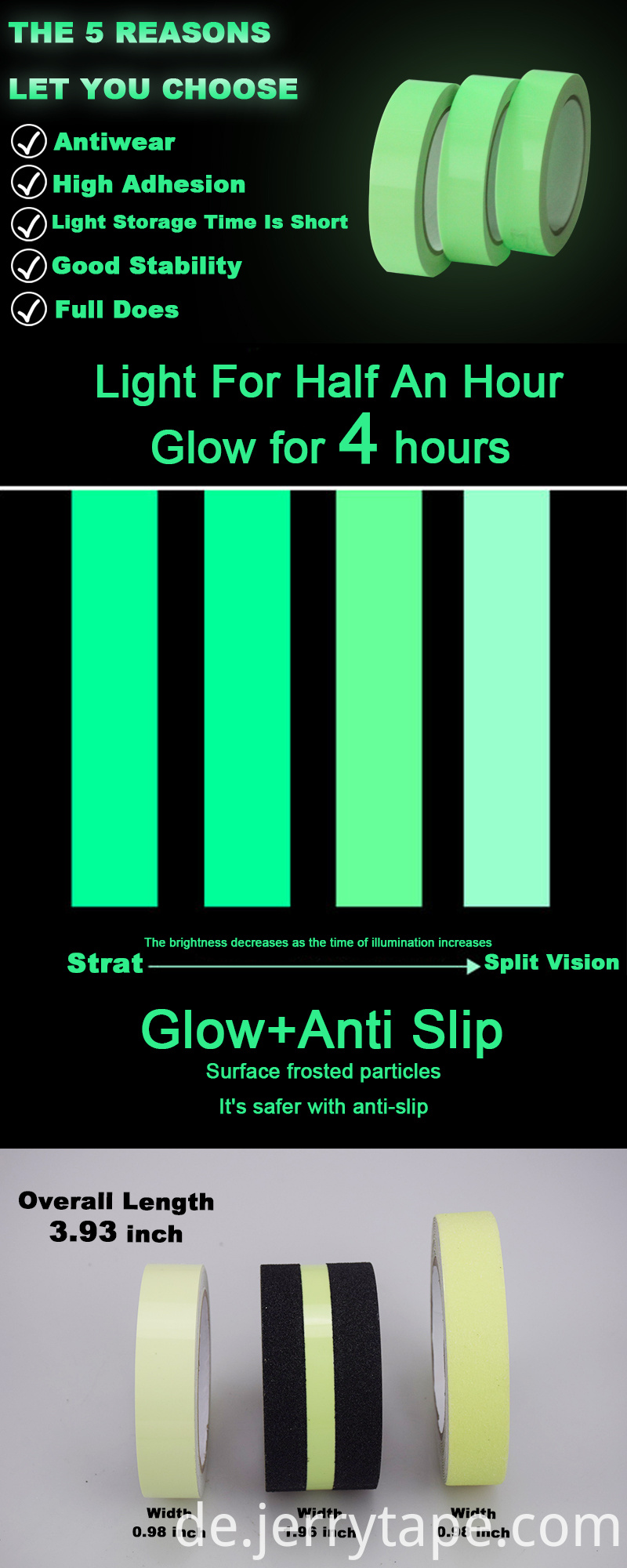 Glow Tape Printed Safety