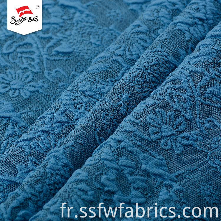 Fashion Soft Handfeel Custom Jacquard Fabric