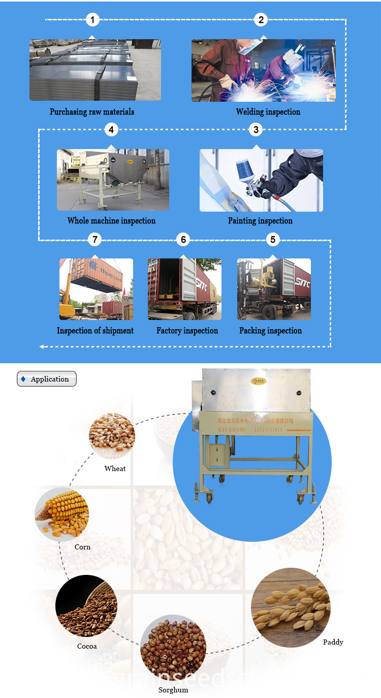 Seed Grain Magnetic Separator for seed cleaning