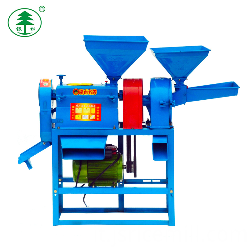 Portable Rice Milling Machine