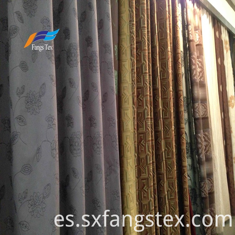 Home Textile 100% Polyester Blackout Curtain Sofa Fabric 2