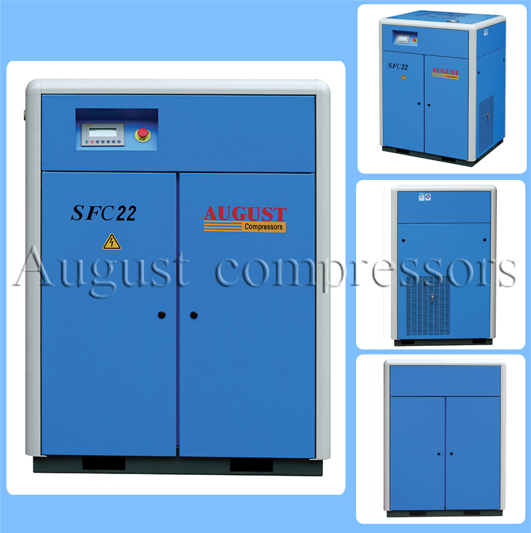 22kw/30HP August Stationary Air Cooled Screw Compressor
