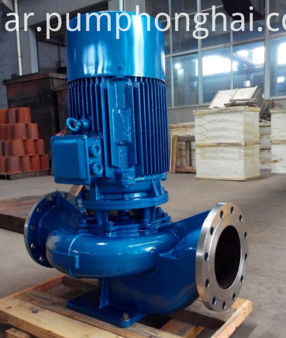 ISG stainless steel material pump