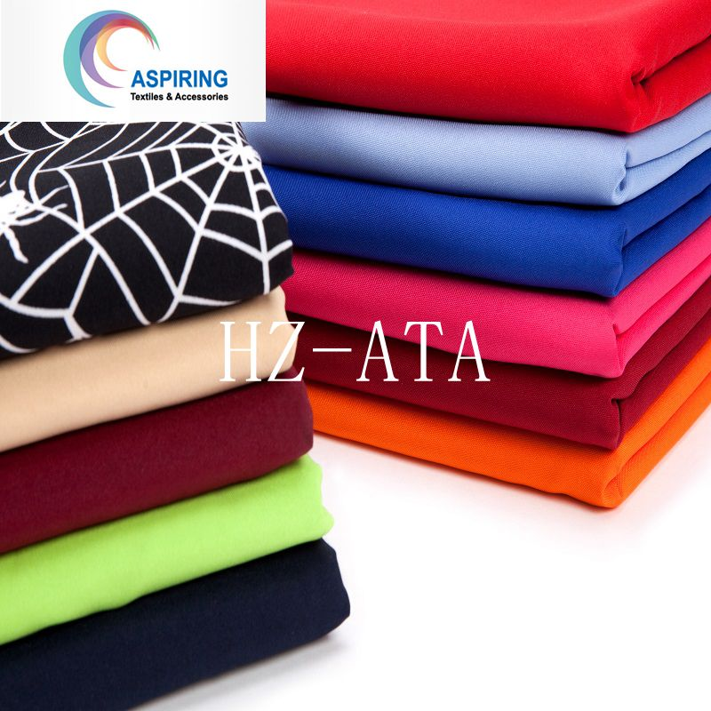 Polyester 75dx150d Satin Fabric for Dress Lining and Decoration