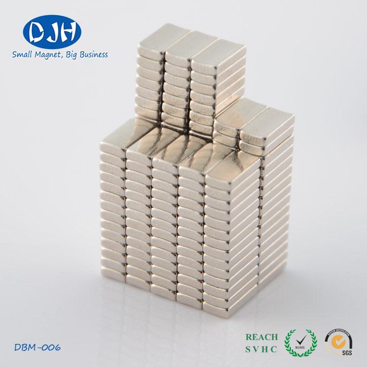 Strong Power High Grade N52 Block Shaped NdFeB Magnets