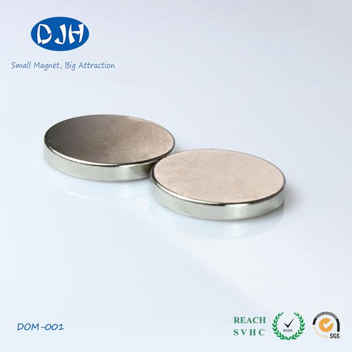 Neodymium Iron Boron Axial Magnetization Disc Magnet