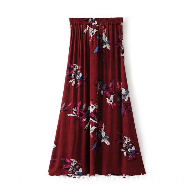 Fashionable Women's Long Skirt