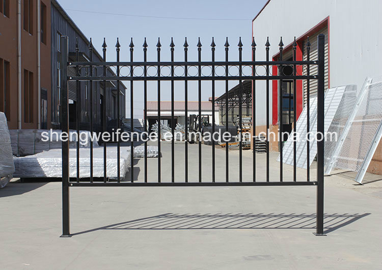 Cheap Decorative Wrought Iron Fence Panels for Sale