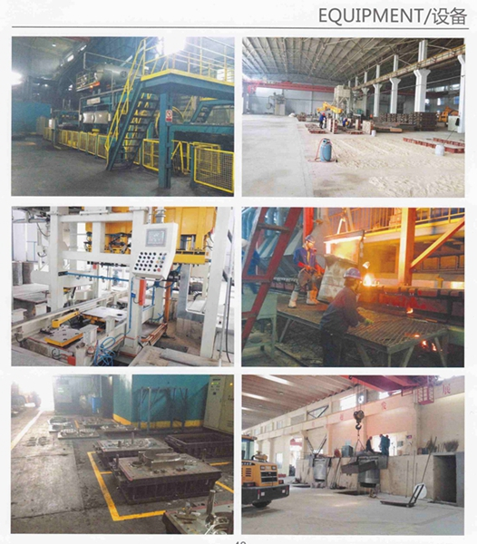 Custom Made in China Q215 Metal Casting with Deburring