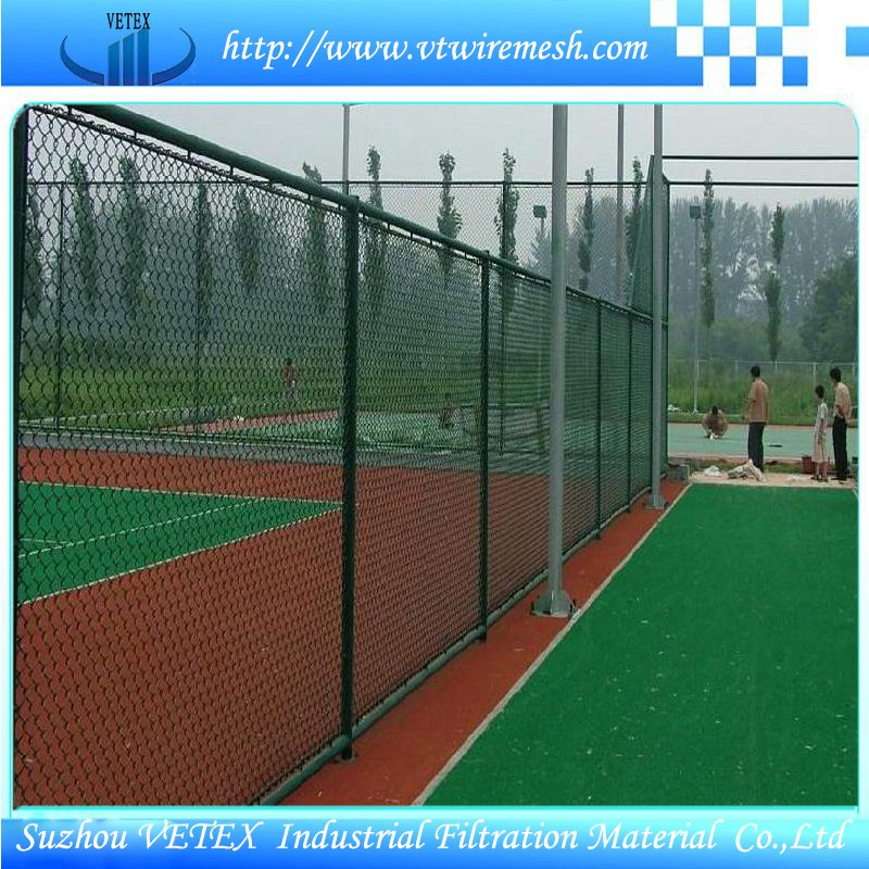 PVC Coated Fencing Barrier Used in Sporting Field