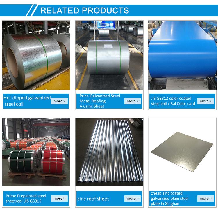 Aluminum-galvanized Corrugated Steel Sheet