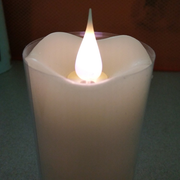 3d Flame Candle Light