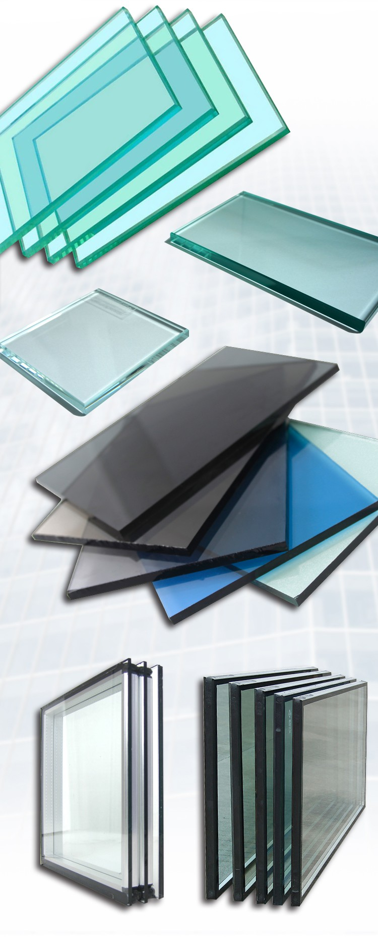 Tempered Processed Window Glass