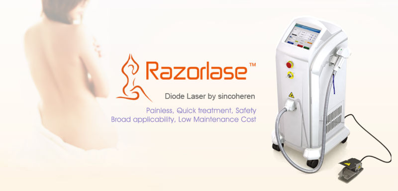 Professional 808nm Diode Laser Machine Shr Hair Removal Laser Beauty Equipment