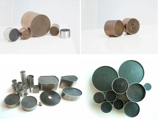 Coating Metallic Catalytic Converter
