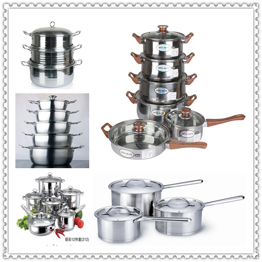 Stainless Steel Non-Stick Cookware Set/Stainless Steel Kitchenware