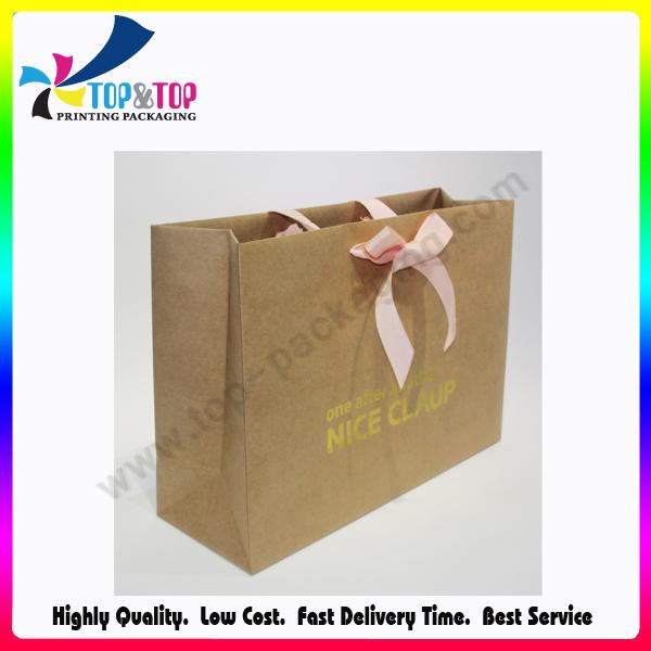 Fashion Portable Cmyk Printing Paper Custom Makeup Bag