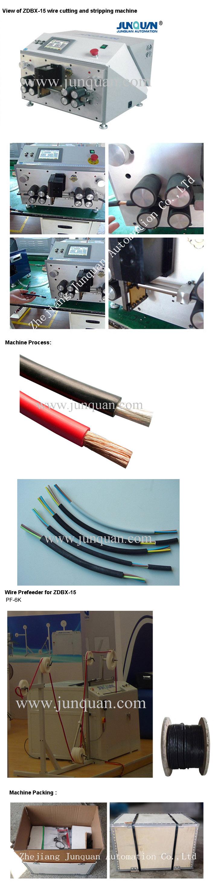 Automatic Computerized Wire Cutting and Stripping Machine (ZDBX-15)