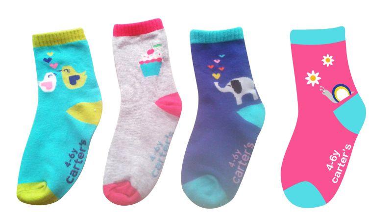 Custom Logo Baby Cotton Socks Made From Fine Cotton Higj Quality Socks