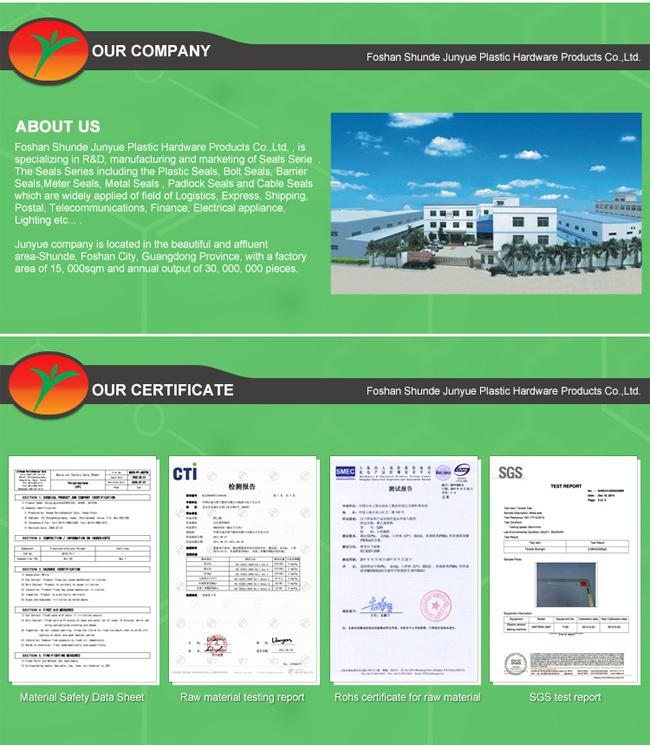 High Security Seal (JY-180T) , Door Seals, Plastic Seals
