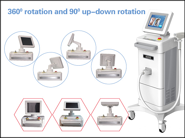 New Professional 808nm Diode Laser Hair Removal