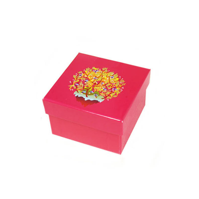 Customized Paper Folding Card Box for Scarf, Makeup, Gift, Belt