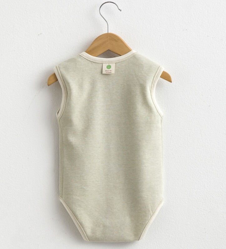 Summer Cotton Baby Unisex Lovely Sleeveless Romper
