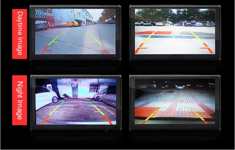 7inch Digital Mirror Monitor Packing Reversing Camera System