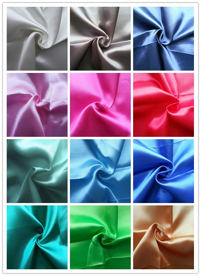 100% Polyester Satin Fabric/Minimatt Fabric/Pongee Fabric/Taffeta Fabric