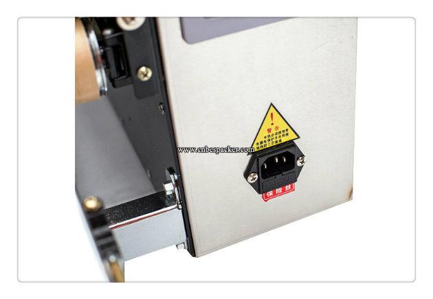 Automatic Continous Bag Sealer Foil Sealing Machine